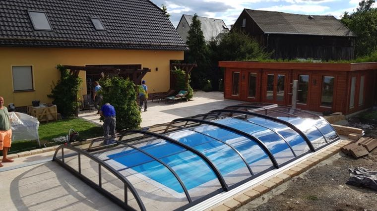 Referenz von Swimmingpool24 beim Poolbau in Bad Dürrenberg